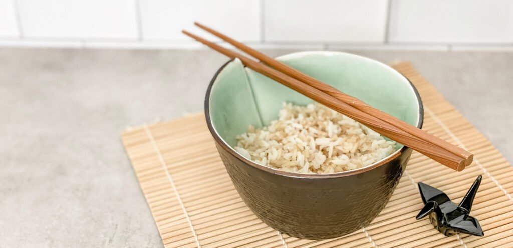 half brown rice white rice