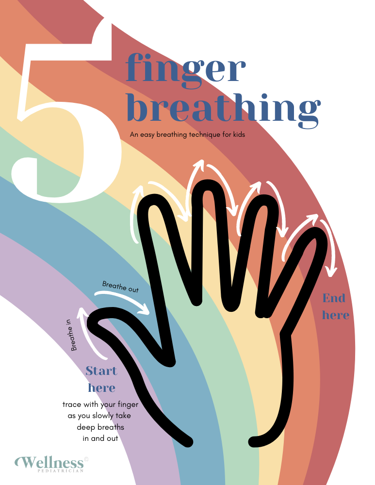 5 Finger Breathing Kids
